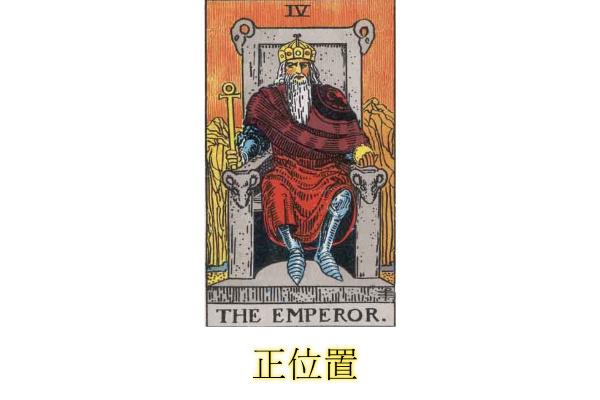 皇帝人物像「正位置」