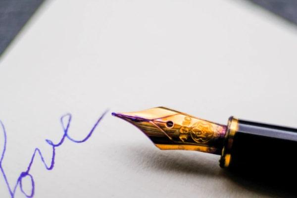 芸能人のサインをもらう夢