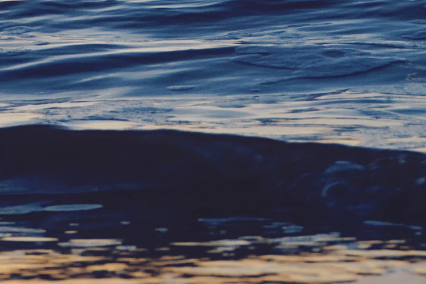 満ち潮の海の夢