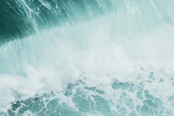 海の波が印象的な夢