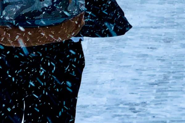 雪道を歩く夢・走る夢