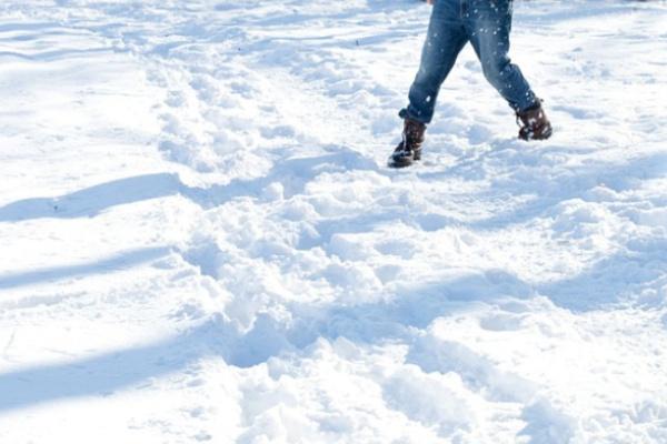 異性と雪遊びする夢