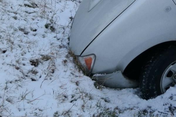 雪道で車が事故する夢