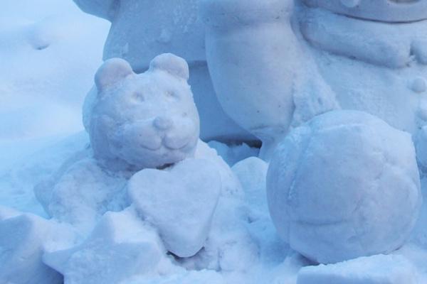 雪像を見る夢