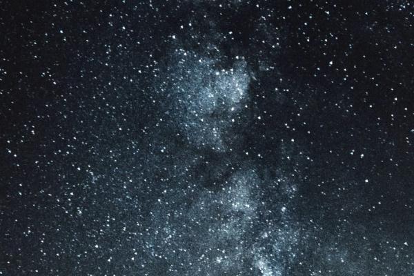 キラキラ光る星空の夢