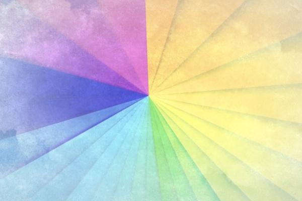 虹色の空の夢