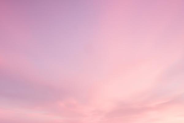 ピンクの空の夢