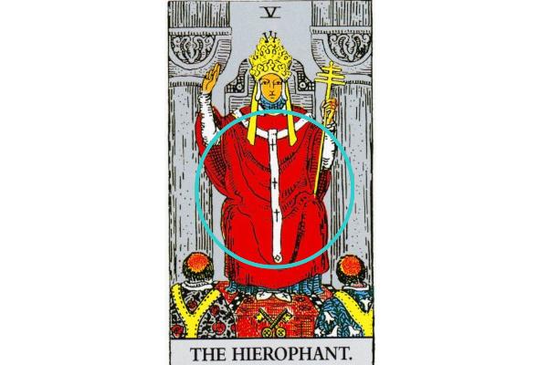 法王が着ている赤い服の意味