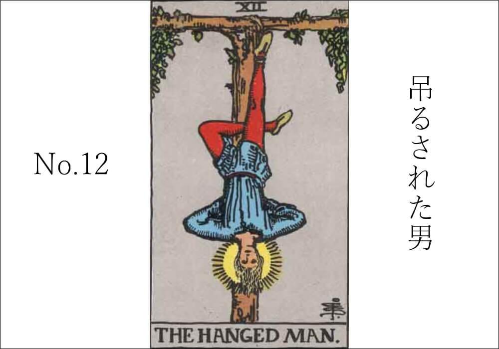 タロットカード「吊るされた男」意味