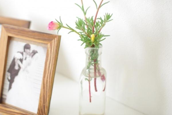 玄関に花瓶