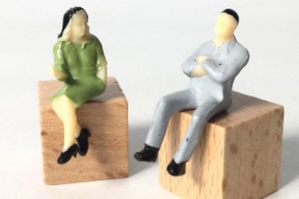 男性に離婚の意志がある・離婚するために行動している場合
