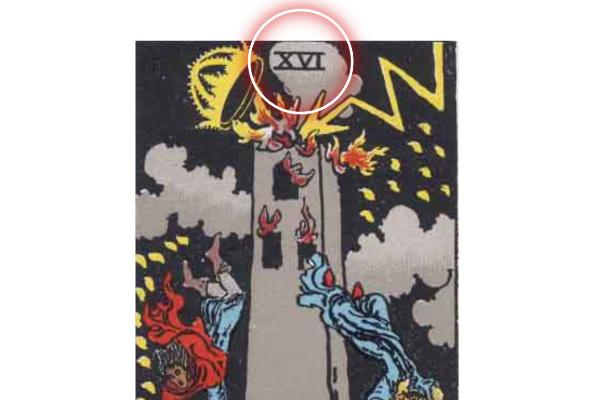 「塔(タワー)」のナンバー16という数字から分かる意味