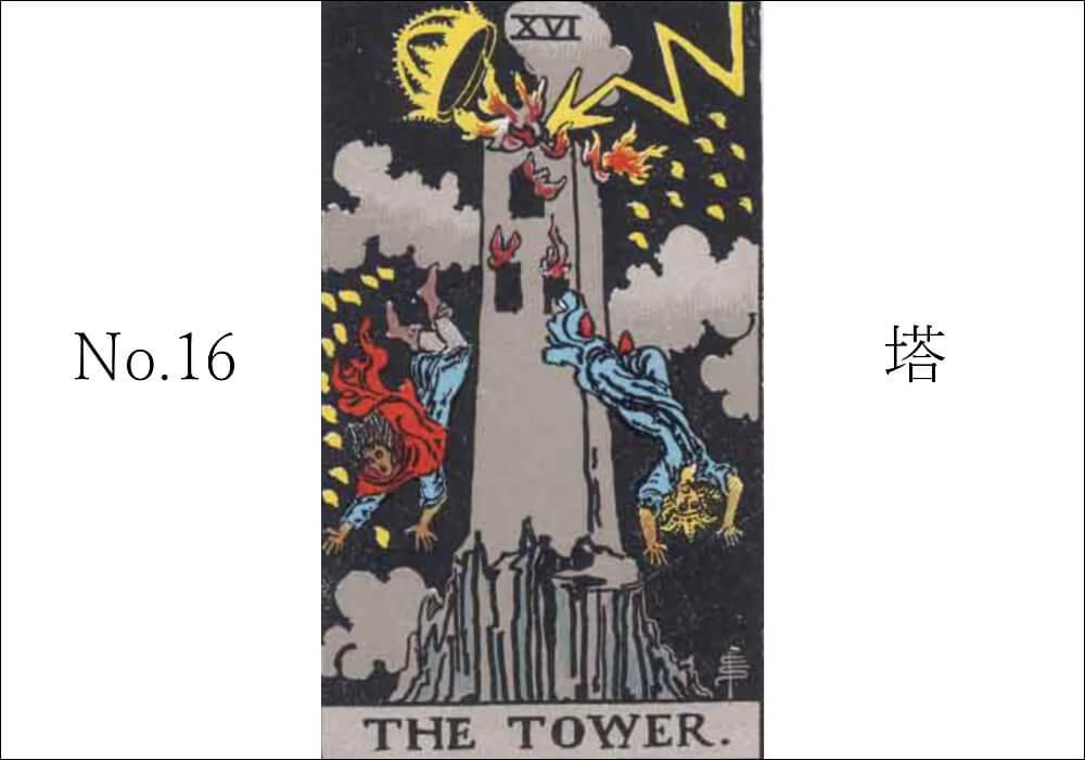 タロットカード塔(タワー)