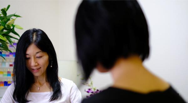「ROCO COLOR」平川智子先生に占いしてもらった体験レポート1