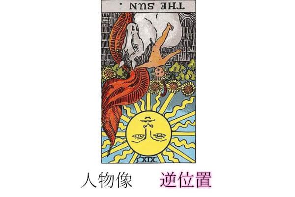 タロットカード太陽人物像・性格逆位置