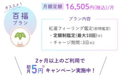 百福プラン【初月5円】