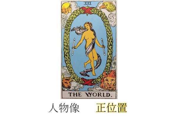タロットカード世界性格・人物像正位置