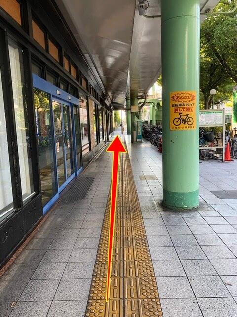近鉄八尾駅中央改札からの行き方2