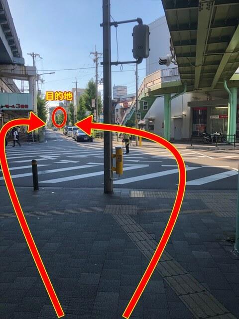 近鉄八尾駅中央改札からの行き方3