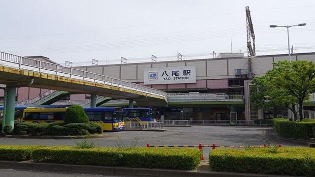 近鉄八尾駅から「占いサロンPURUA」への行き方1